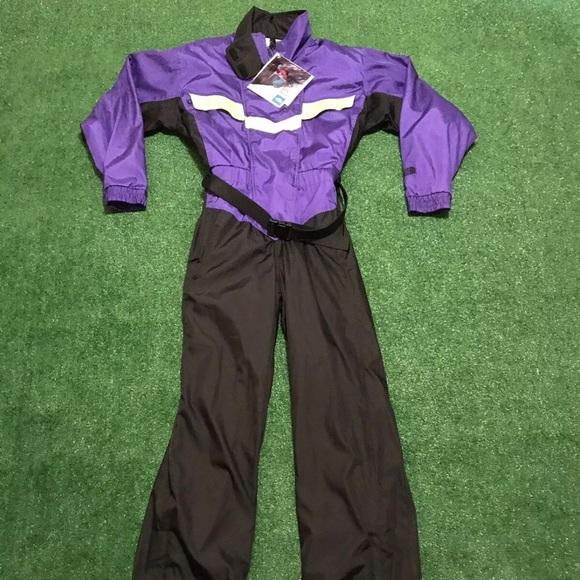 RARE Vintage 1989 The North Face Ski Suit